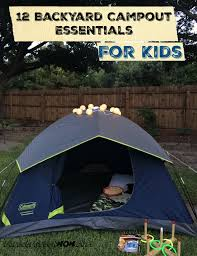 12 backyard campout essentials for kids energizer pack giveaway