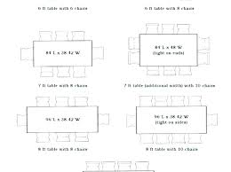 average kitchen table size average dining room table size standard coffee table size average