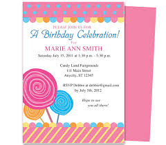 kids birthday invite template invitation ideas