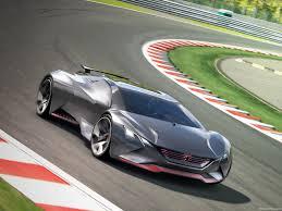 peugeot sports car 2015 peugeot vision gran turismo concept 2015 pictures information
