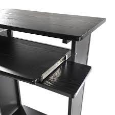 homcom 30 in portable standing workstation computer desk ebay