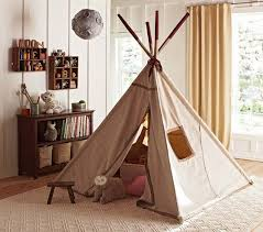Pottery Barn Kits Red Stitch Teepee Pottery Barn Kids