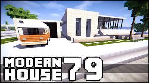 Modern Houes Minecraft Modern House 79 Youtube
