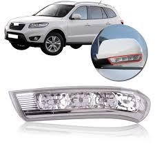 hyundai santa fe warning lights capqx korea genuine side mirror led signal l turn light 87623