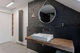black painted bricks interior design ideas