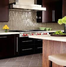 Glass Mosaic Tile Backsplash - Linear tile backsplash