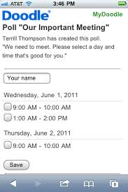 doodle poll ifneedbe forms within tables doodle and accessibility terrill thompson