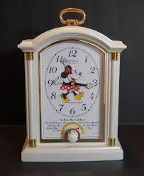 Jcpenney Clocks Vintage Seiko Minnie Mouse Alarm Clock Quartz Plays 6 Melodies
