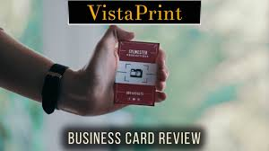 Vistaprint 10 Business Cards Vistaprint Business Cards Review Youtube