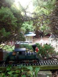 all aboard for a tour of five garden railways beesfirstappearance