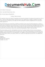 Experience Letter India experience letter format for driver documentshub