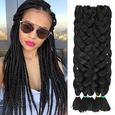 how much is expression braiding hair 1 piece synthetic braiding hair kanekalon jumbo braid 82 165g