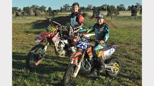 motocross bikes for sale in wales fox wheatly race in to state title selection daily liberal