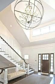 Foyer Chandelier Ideas Foyer Chandelier Idea Best Entryway Lighting Design Ideas Remodel