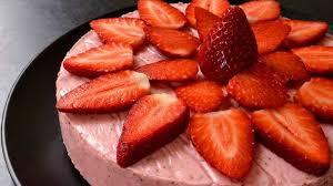 jeux de aux fraises cuisine gateaux gâteau aux fraises sans lait ma cuisine santé recette par ma
