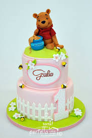 44 best cakes pooh u0026 friends images on pinterest 1st birthday