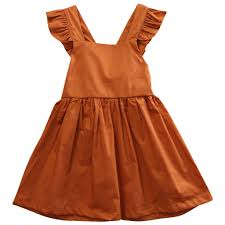 terracotta rose girls fall dress u2013 angora boutique