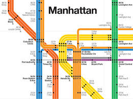 Penn Station New York Map by Massimo Vignelli Subway Map Poster My Blog