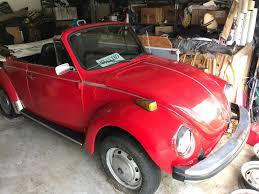 volkswagen beetle classic convertible ebay 1979 volkswagen beetle classic convertible california car