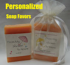 personalized bridal shower favors bridal shower favors soap shower favors party favors
