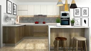 can cabinets work in a small kitchen u shape kitchen cabinets fit for small kitchen oppein the