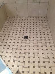 install tile shower floor drain perfect shower floor tile tile for