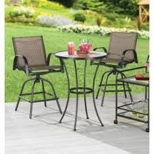 Patio High Table And Chairs High Top Bistro Sets Foter