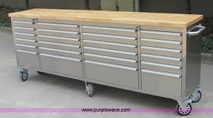 stainless steel workbench cabinets siebel 24 96 stainless steel work bench item k2518