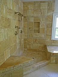 Bathroom Designs With Walk In Shower Doorless Walk In Showers 12291