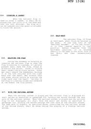 Position Of Flags Naval Telecommunications Procedures Flags Pennants U0026 Customs Ntp