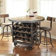 Surfboard Bar Table Acme Furniture Oak Wine Storage Pub Bar Table Barrel Coffee With