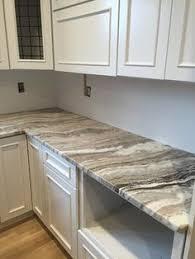 fantasy brown quartzite kitchen countertop w straight edge