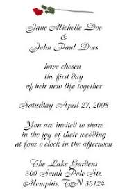 Wedding Invitations Examples Samples Of Wedding Invitations Wording With Reception Iidaemilia Com