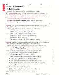 verb phrase worksheet worksheets releaseboard free printable