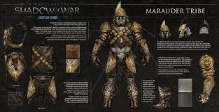 amazon cartel coins black friday shadow of war all 7 orc tribes armor sets appearance revealed