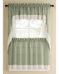 Kitchen Curtains On Sale by Check Out These Bargains On Sage Country Style Kitchen Curtains