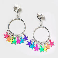 claires clip on earrings earrings at s