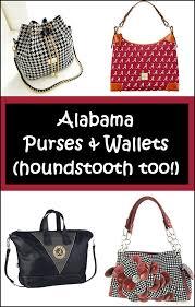 Alabama travel laundry bag images Alabama houndstooth purses wallets bama shoulderbags png