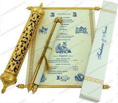 indian wedding invitations scrolls 27 best scroll wedding invitations royal scroll wedding cards