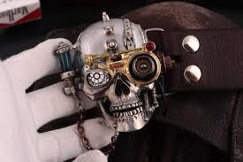 designer belts ogrm steam style buckle tin alloy belt buckle skull