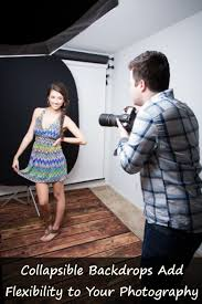 Collapsible Backdrop Collapsible Backdrops Add Flexibility To Your Photography