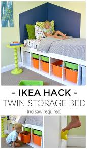 twin corner beds with storage fpudining