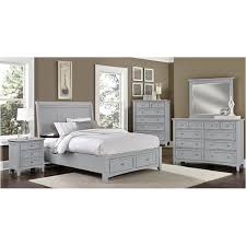 bassett bedroom furniture bb26 115 vaughan bassett furniture 5 drawer chest grey