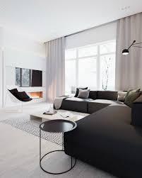 white home interiors minimalist black and white interior decoholic