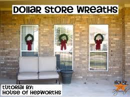 window wreaths 2 outdoor wreaths tutorial