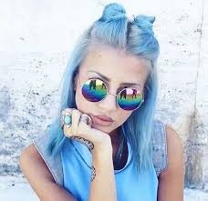Cool Blue Best 25 Blue Hair Colors Ideas Only On Pinterest Blue Hair