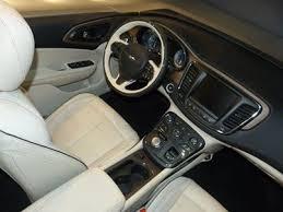 2015 Chrysler 200 Interior 2015 Chrysler 200 U2013 Truedelta