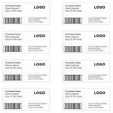 shipping label template u2013 microsoft word templates