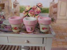 Shabby Chic Flower Pots by Rustic Welcome Sign Pink Shabby Chic Garden By 3vintagehearts
