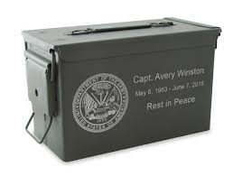 cremation urn m2a1 ammo can cremation urn